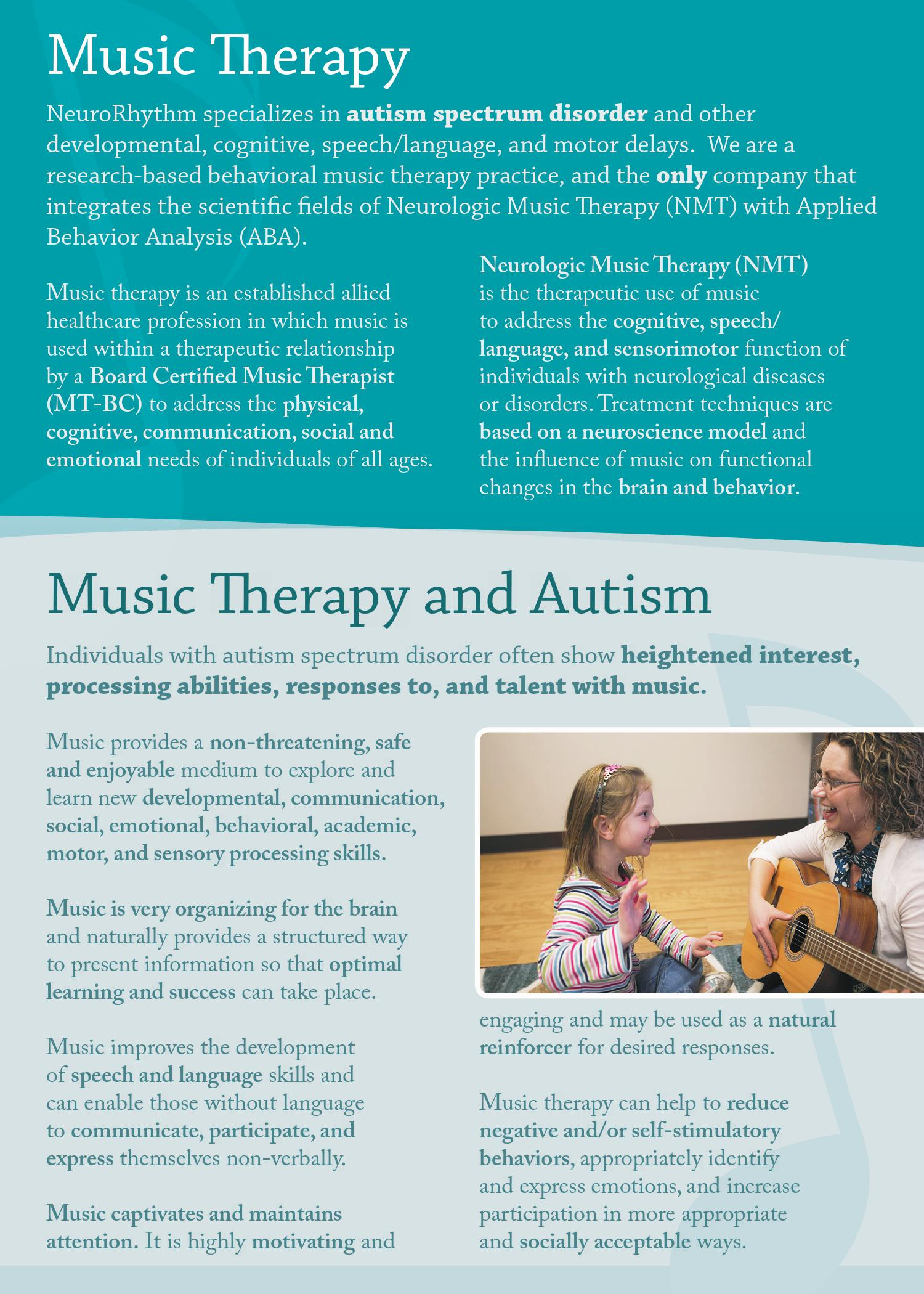 NeuroRhythm Music Therapy Autism Colorado Springs